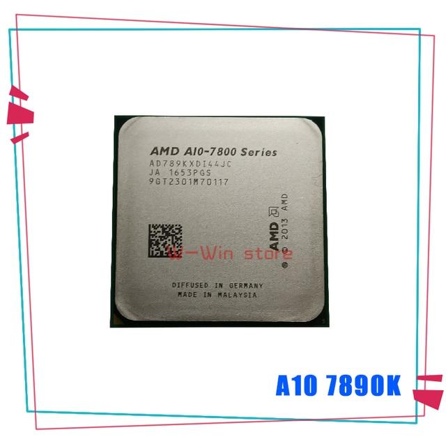 AMD A10 Series A10 7890K A10 7890 K A10 7890 K 4.1 GHz Quad Core CPU AD789KXDI44JC ซ็อกเก็ต FM2 +