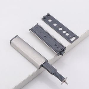 Image 1 - Дверной стопор, шкафчик ловит из нержавеющей стали, нажмите, чтобы открыть сенсорный Буфер Заслонки, мягкие, тихие, ближе мебельная фурнитура