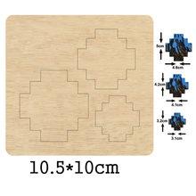 Серьги в форме сердца неправильной формы деревянные Насадки
