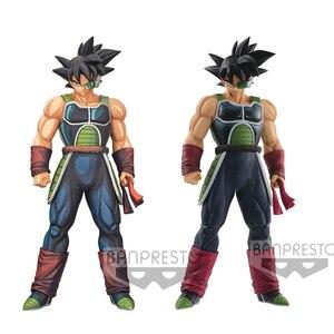 Image 1 - Оригинальная фигурка Tronzo 28 см Banpresto, Dragon Ball, Grandista ROS GROS, разрешение солдат, лопуха, ПВХ фигурка, модель игрушек