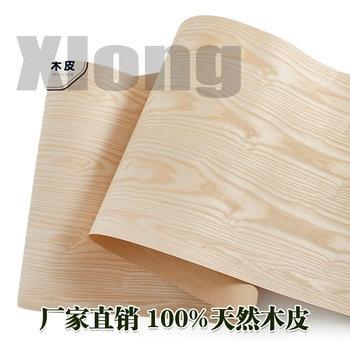 L:2.5Meters Width:55cm  Thickness:0.25mm Natural Ash Veneer Kraft Paper Ash Wood Ash Pattern Veneer Ash Veneer Veneer Solid Wood ash shawwa awakening