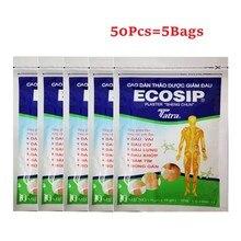 50 pièces/lot Vietnam Ecosip plâtre à base de plantes arthrose os soulagement de la douleur Patch médical plâtres pâte de soulagement de la douleur