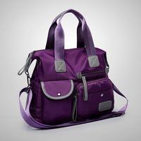 Frauen Wasserdichte Nylon Handtasche Multifunktions Große Kapazität Reise Umhängetaschen Multi-Tasche Zipper Schulter Totes