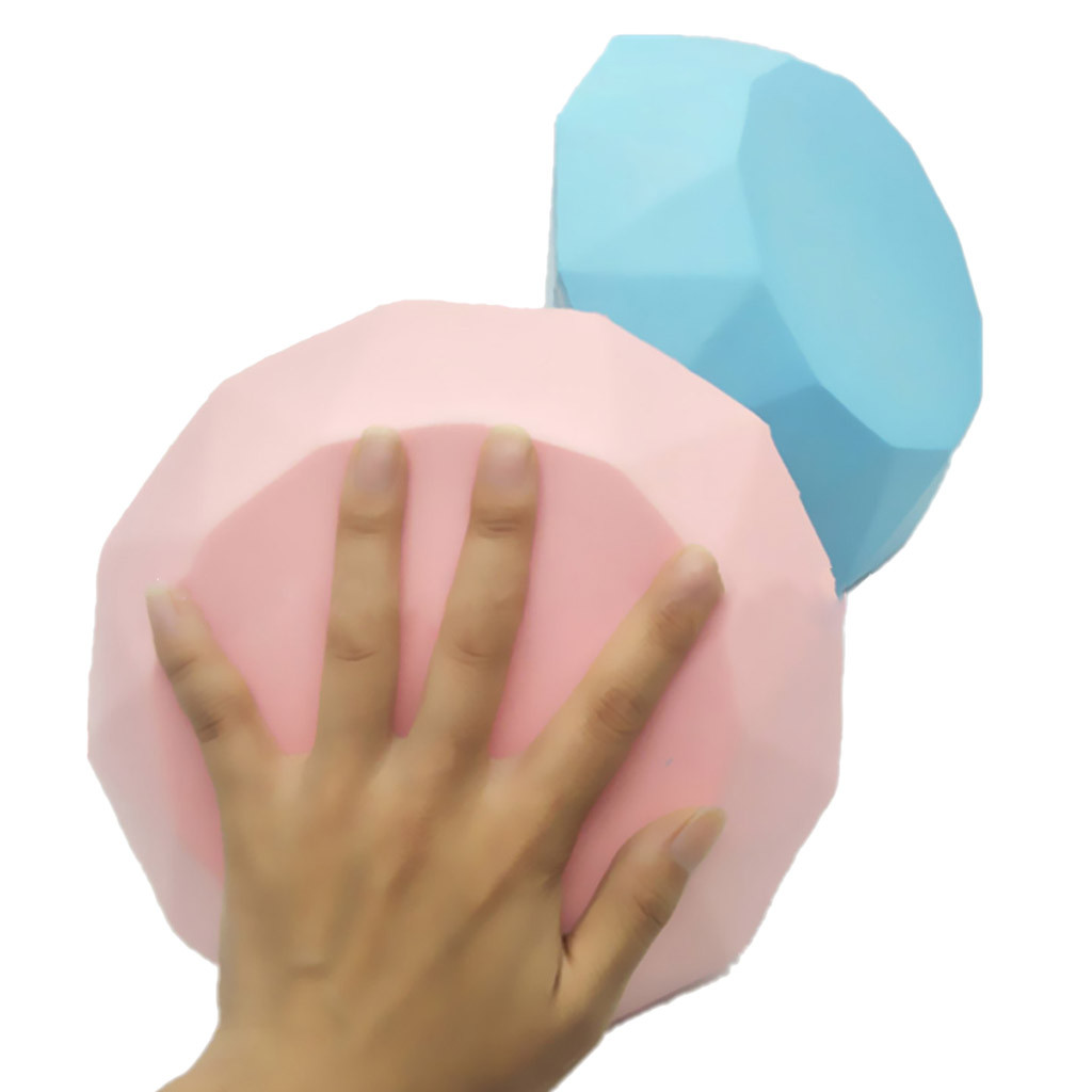 New Oversized Diamond Slow Rebound Simulation Toy Decompression Venting Toy Pu Slow Rebound Simulation Toy L106