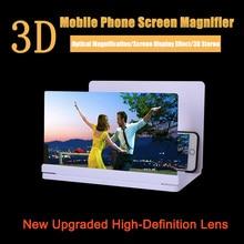 10inch 3D Mobile Phone Screen Magnifier Amplifier Folding HD Video Magnifying Glass Watch 3d Movies Smart Phone Bracket Holder