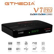 GTMEDIA V7 Pro DVB S/S2/S2X/T/T2 Satellite Terrestrischen Empfänger, h.265 HEVC10 bit,Decoder,Albertis Tivusat CA karte Set top box