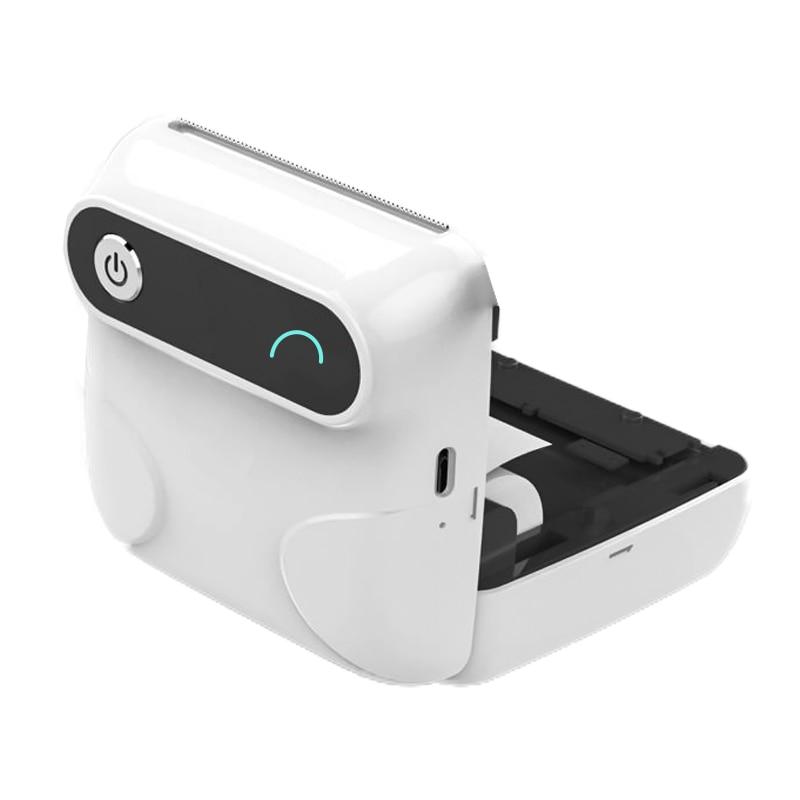 Mini Thermal Bluetooth Photo Printer Mobile Phone POS Mini Ios Android 58mm Portable Wireless