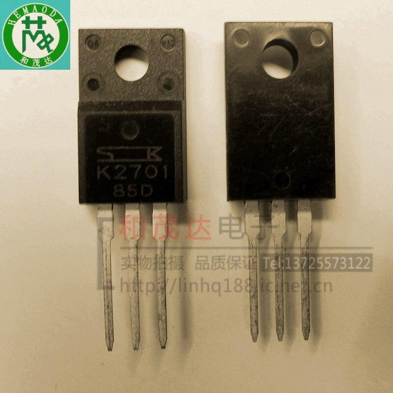 1 шт., новые оригинальные кнопки 2SK2701 K2701 TO-220F 450V 7A в наличии на складе