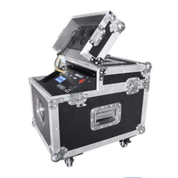 600W Haze machine dmx control Fog Hazer Smoke machine with flight case for stage effect