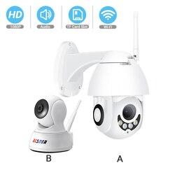 Besder hd 1080 p câmera ip ptz de segurança em dois sentidos áudio ir visão noturna inteligente cctv vigilância p2p mini câmera wi-fi monitores do bebê