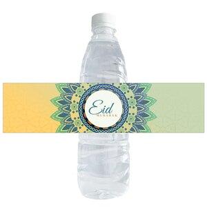 Вечерние наклейки на бутылки для воды Eid Mubarak, наклейки на этикетки с печатью, Подарочные наклейки для сумок, наклейки s, DIY, принадлежности для декора, Мусульманский Исламский фестиваль|Украшения своими руками для вечеринки|   | АлиЭкспресс