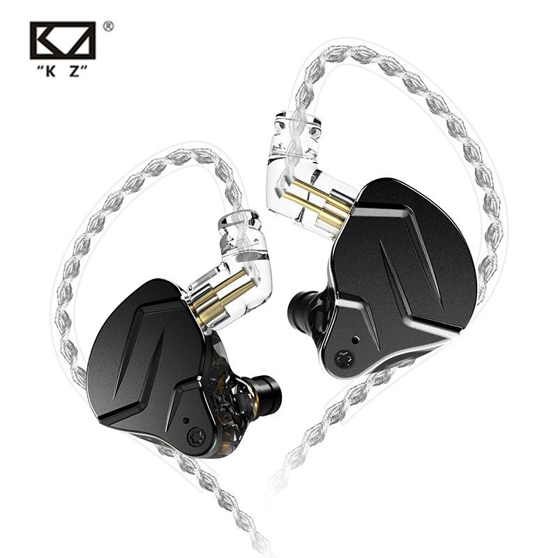 KZ ZSN Pro X 1BA + 1DD гибридные металлические наушники-вкладыши HIFI басовые наушники монитор наушники Спортивная шумоподавляющая гарнитура