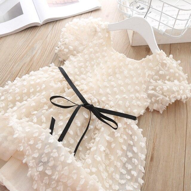 Moda dziewczyny księżniczka sukienka letnia Elelgant Bbay koronkowa sukienka dla dziewczynki dzieci sukienka dziewczęca na przyjęcie urodzinowe ubranka na prezent dla małych dzieci odzież dla dzieci