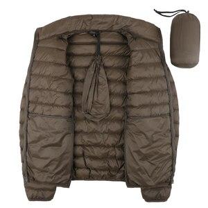 Image 3 - NewBang Matt Fabric Man Down Jackets Ultra Light Down Jacket Men Feather Lightweight Parka  Windproof Warm Coats