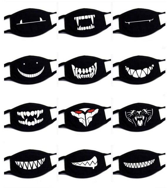 1PC Unisex Kawaii Anti Dust Mask Cotton Mouth Mask Cute Cartoon Mouth Muffle kpop Flu Face Mask Korean Masque Bear masks 1