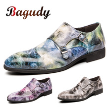 2019 All Season Pointed Mens Formal Business Party Derby Shoes Luxury Mens Dress Shoes Mens Casual Leather Wedding Shoes 48