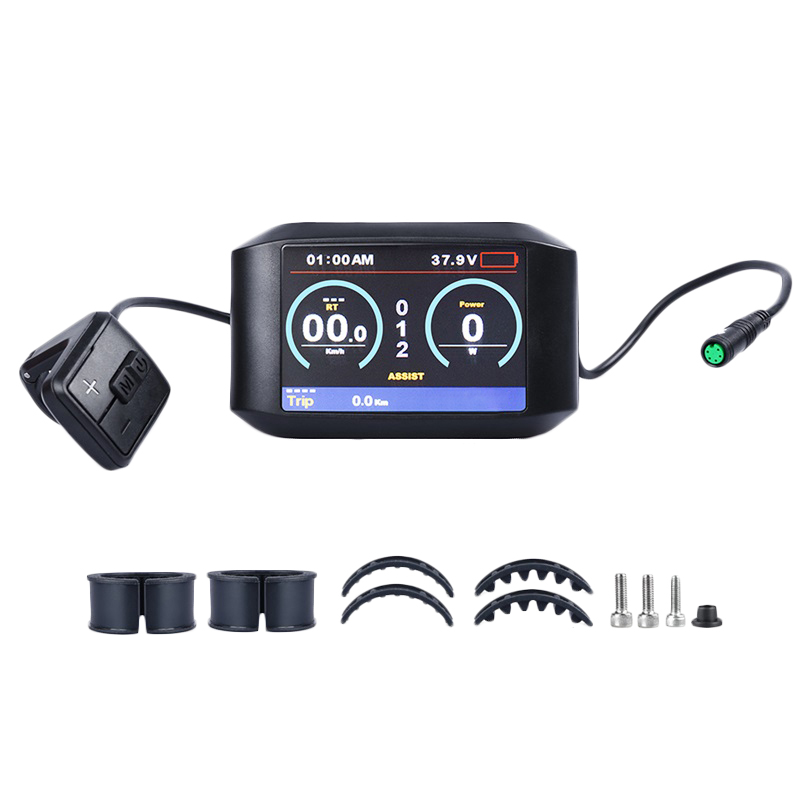Electric Bicycle 750C Ips Colorful Screen Display for Bafang Mid Motor Bbs01B Bbs02B Bbshd|Trainers & Rollers| |  - title=