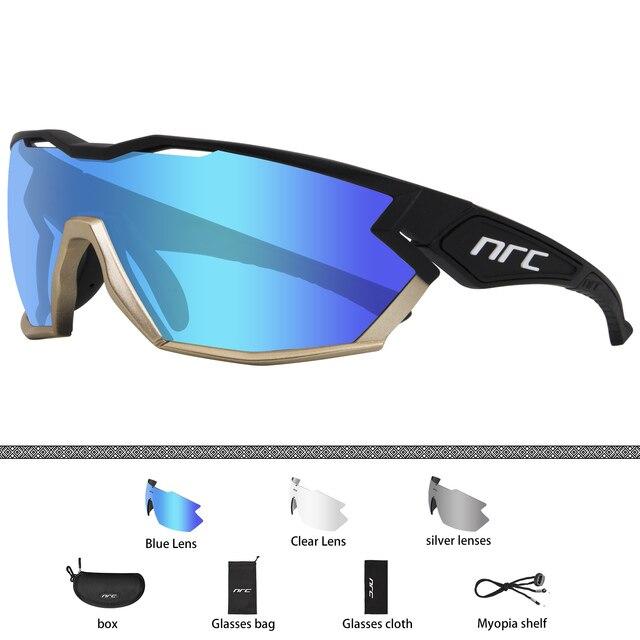 Marca 2019 nrc p-ride photochromic ciclismo óculos homem mountain bike bicicleta esporte ciclismo óculos de sol mtb ciclismo eyewear mulher 4