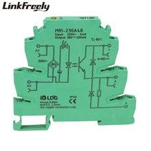 Mri 230a48 10 шт led интерфейс напряжение релейный модуль вход