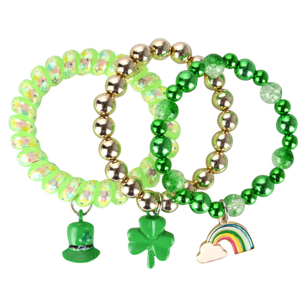 Bracelet Set Jewelry Clover Hat