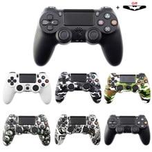 Kablosuz/kablolu Joystick PS4 denetleyici Fit Mando için ps4 konsolu Playstation Dualshock 4 Gamepad PS3