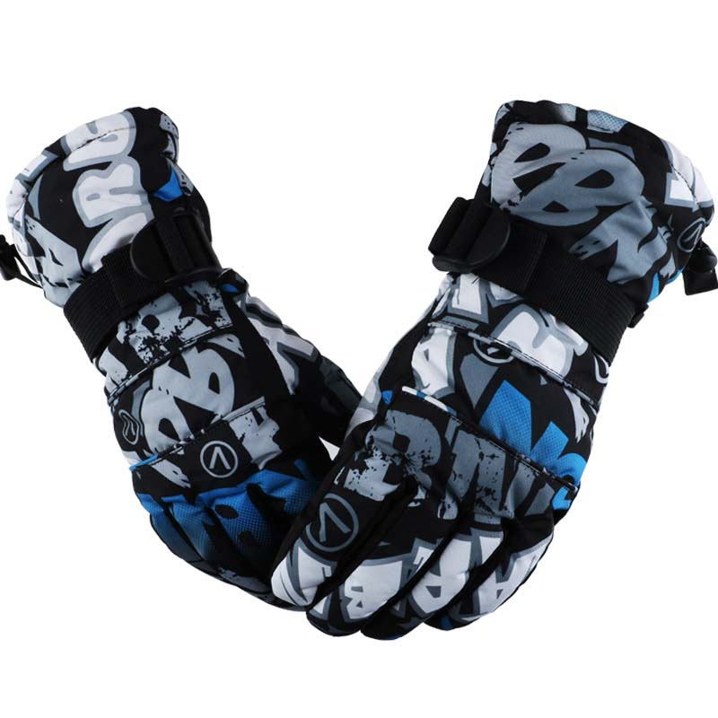Warm Ski Gloves Winter Men And Women Touch Screen Thickened Cold Gloves