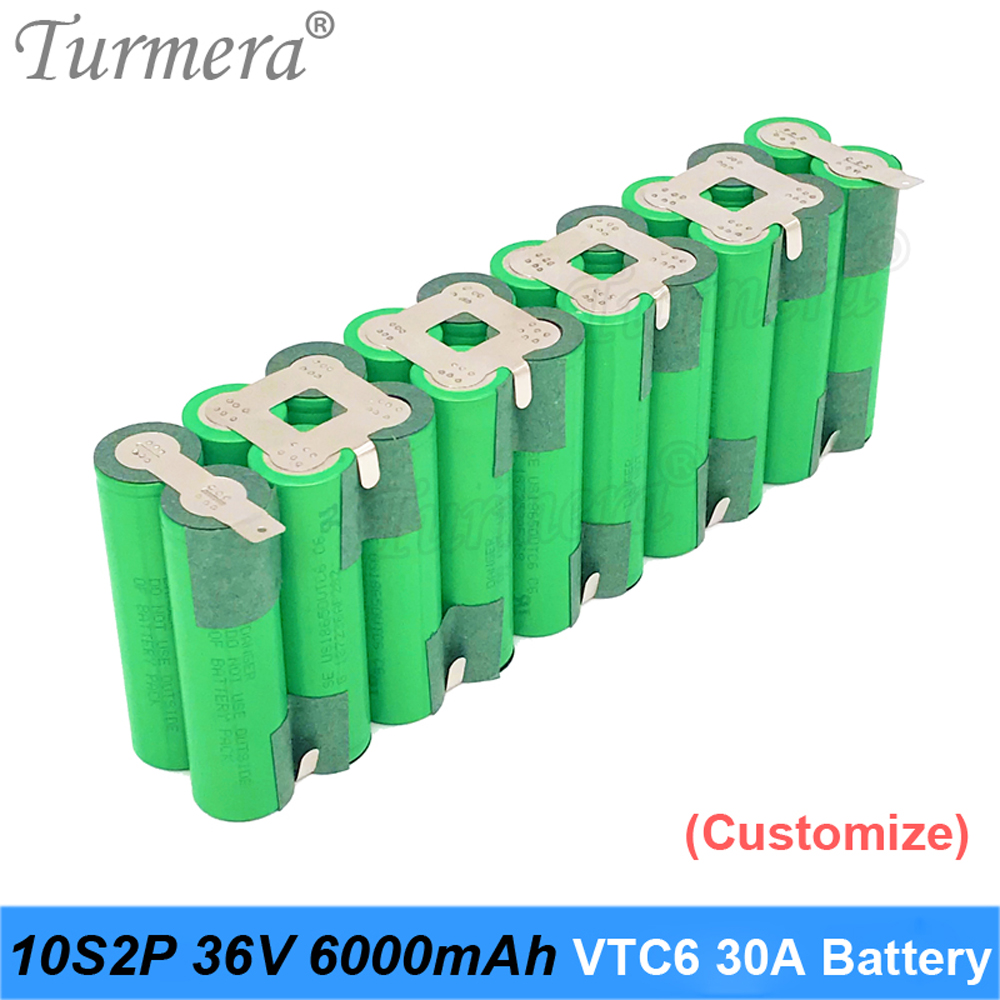 36v <font><b>battery</b></font> pack 10s <font><b>18650</b></font> vtc6 10s2p 36v 42v <font><b>6000mah</b></font> soldering <font><b>battery</b></font> for graden tool bike <font><b>battery</b></font> customized <font><b>battery</b></font> turmera image