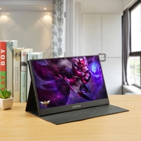 17.3 Inch Super Ultra Portable Monitor for HDMI PS3 PS4 XBOX PC 1920 x 1080P IPS Screen USB Display with Folding Holder