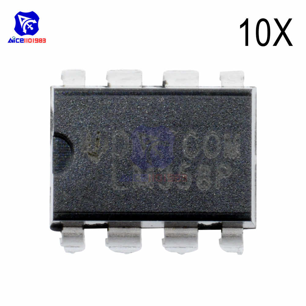 10 PCS/Lot IC Chips LM358N LM358 358 DIP-8 Dual Operational Amplifier IC