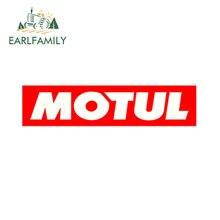 EARLFAMILY 13ซม.รถจัดแต่งทรงผมรถสติกเกอร์สำหรับMotul VoitureหลักสูตรAutocollants Auto Moto JDM Vinyleสติกเกอร์การแข่งขันHuile Decal