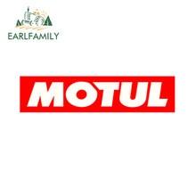 EARLFAMILY – autocollant de Course en Vinyle, 13cm, style de Voiture, pour Moto, JDM