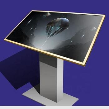 55 Inch Infrared Interactive All In One Touch Screen Monitors Pc I7+2G+128G For Bank Self-service Machine