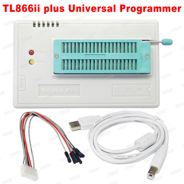 مبرمج TL866II PLUS Bios أصلي 100% + 14 محول Bios Flash EPROM EEPROM TSOP32/40/48 TSOP48 أفضل من TL866A TL866CS