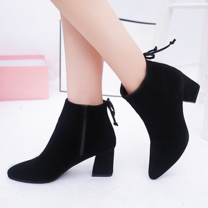 MHYONS Women Ankle Boots 2019