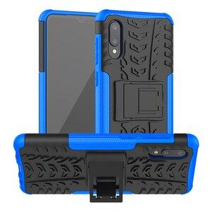 Image 1 - 50pcs/lot 2 in 1 hybrid pc tpu hard case For Samsung S21 S21Ultra S21PLUS A72 A52 A32 4G 5G A02S A12 Rugged Shockproof