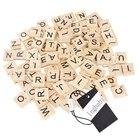 100pcs Wooden Letter...