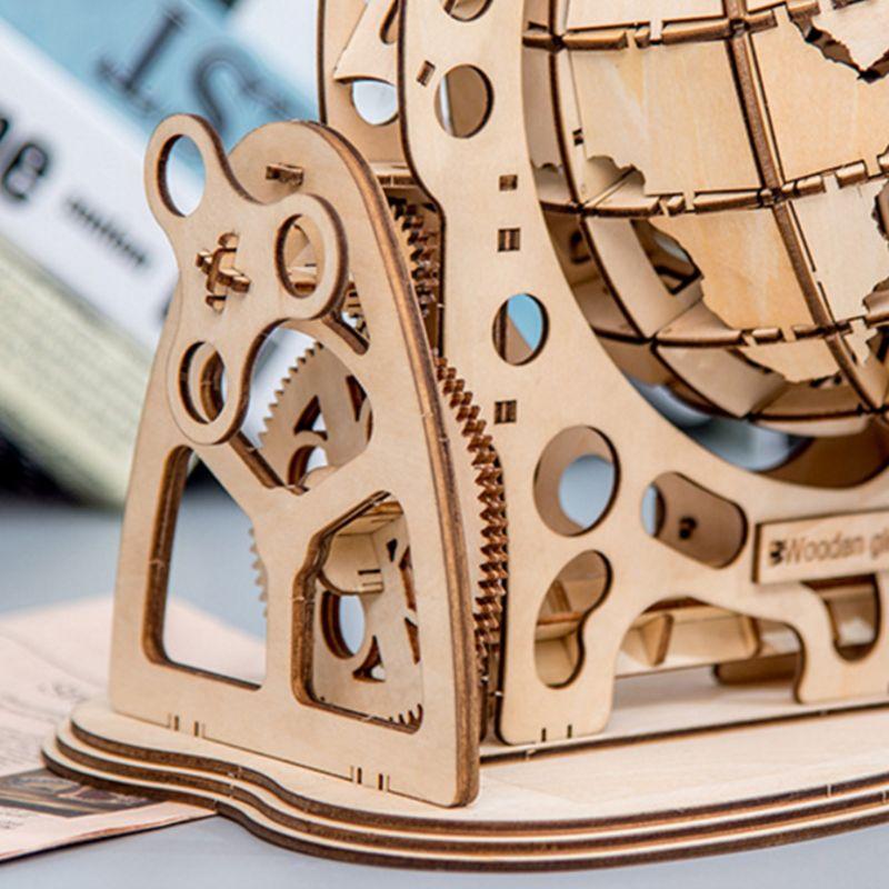 mecanica modelo engrenagem transmissao girar montagem casa decoracao brinquedos 04