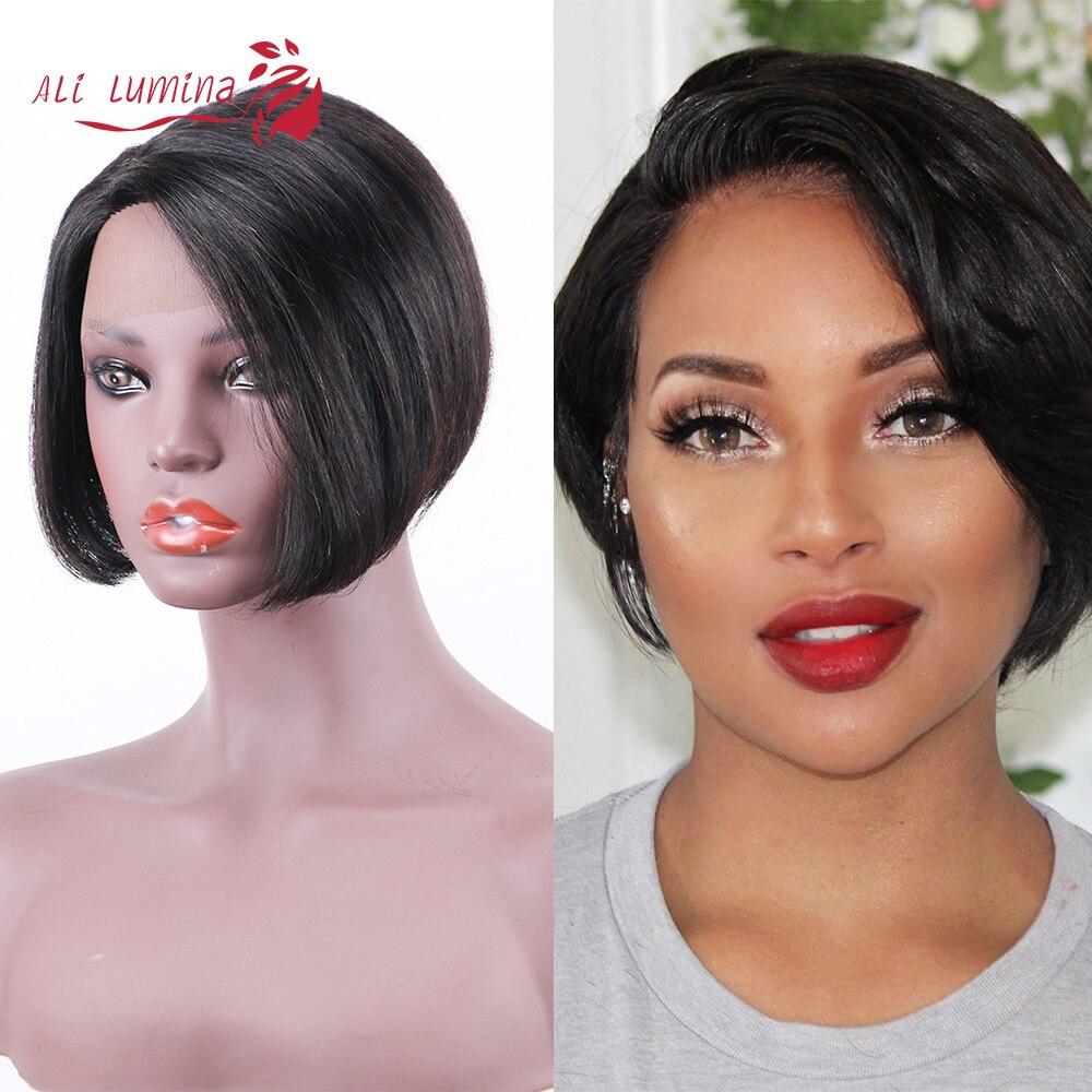 Straight Pixie Cut Short Wig Ali Lumina 3