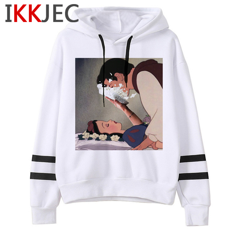 Aesthetic Harajuku Funny Cartoon Hoodies Women/men Grunge Princesses Vintage Sweatshirt 90s Graphic Fashion Hoody Female/male 1