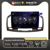 EKIY DSP 6G 128G Android 10.0 per Buick Regal per Opel Insignia 2009-2013 autoradio lettore multimediale navigazione GPS DVD Stereo