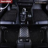 Car Floor Mat for peugeot 5008 307 508 308 3008 301 2008 207 sw Waterproof Car Accessories Leather Floor Mat Carpet Liner