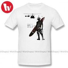 Vietnam War T Shirt Charlie Don T Surf T-Shirt Men Cartoon Print Summer Mens Short Sleeve T Shirts Basic Streetwear Tee Shirt