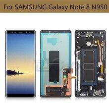 Burn Shadow For Samsung Galaxy Note 8 LCD N950F N950FD N950U Display Touch Screen Digitizer Assembly For Samsung note8 Display