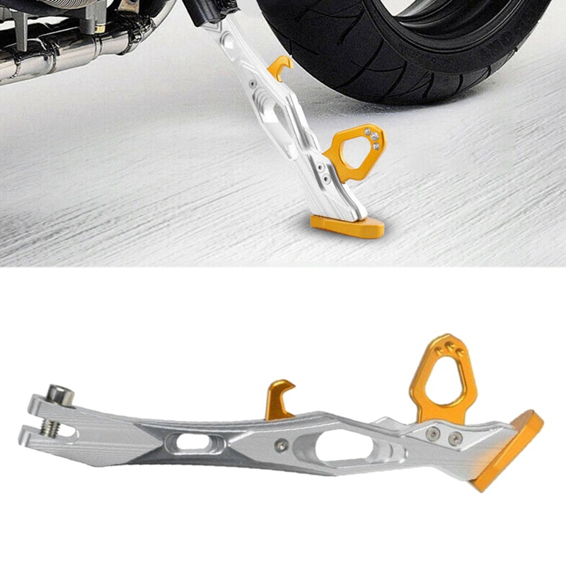 Alloy Adjustable Kickstand Foot Side Stand For Universal Motorcycle
