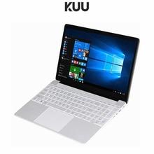 KUU For intel J3455 Quad Core 15.6 inch Student Laptop 8GB RAM 128GB256GB SSD Notebook Ultrabook With Webcam Bluetooth WiFi