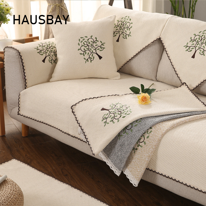 Tree Slipcovers Sofa Covers Non Slip