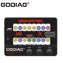 Godiag gt100 obd ii quebrar a plataforma de teste do conector gt100 do ecu da caixa para a manutenção do ecu/codificação do programa do diagnóstico
