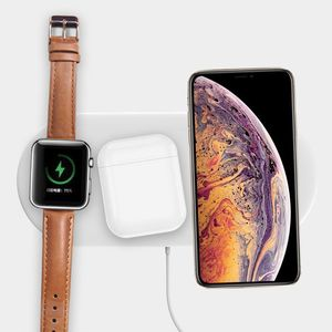Image 4 - 1 Pc 3in1 QI Wireless Charger Charging Base Station for Apple Watch / iPhone/AirPods