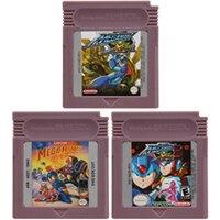 Video Game Cartridge Console Card 16 Bits Megaa Man Series For Nintendo GBC English Version 1