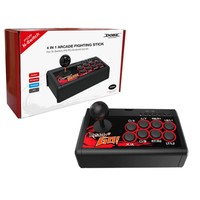 Usb Rocker Game Controller Arcade Joystick Fight Ara For Swtich / Ps3 / Pc / Android 4 In 1 Arcade Fight Stick
